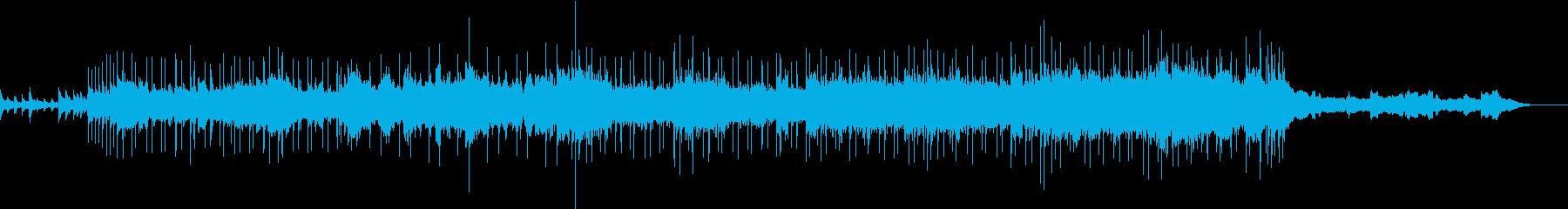 感動的な和風のバラードの再生済みの波形