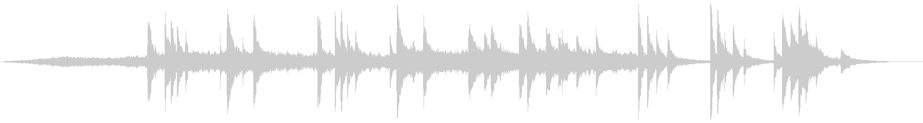 現代的 交響曲 アンビエント ほの...の未再生の波形