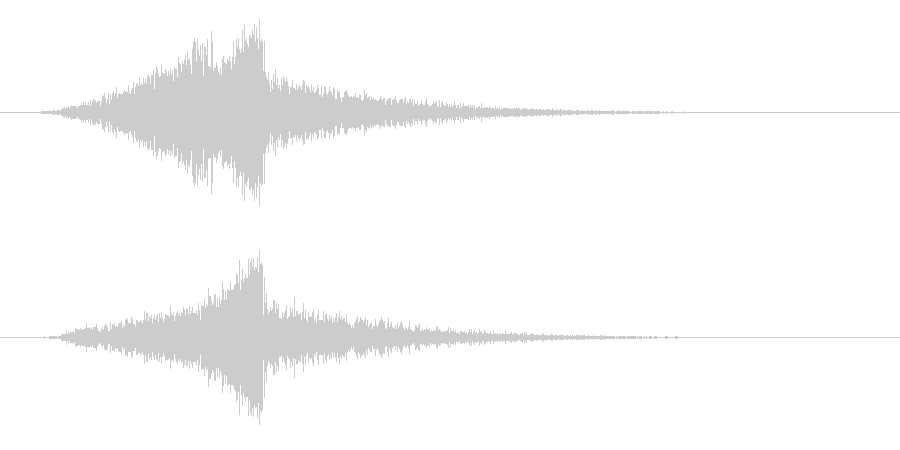 メカニカルスウィッシュ、モーフの未再生の波形