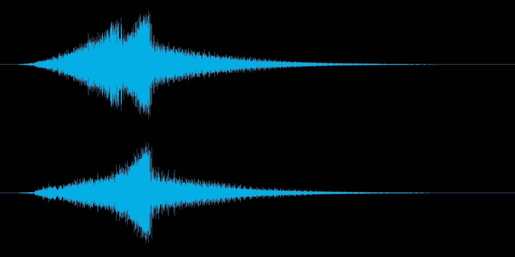 メカニカルスウィッシュ、モーフの再生済みの波形