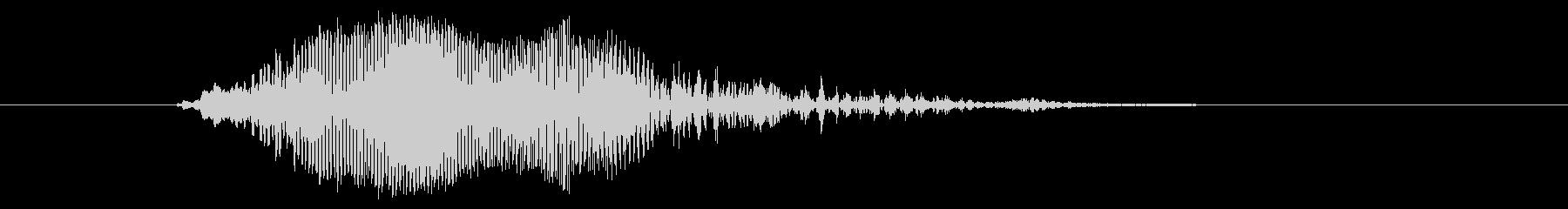 鳴き声 男性コンバットヒットハード01の未再生の波形