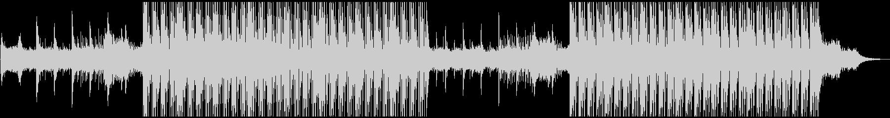 電子ドラムマシンのバックグラウンド...の未再生の波形