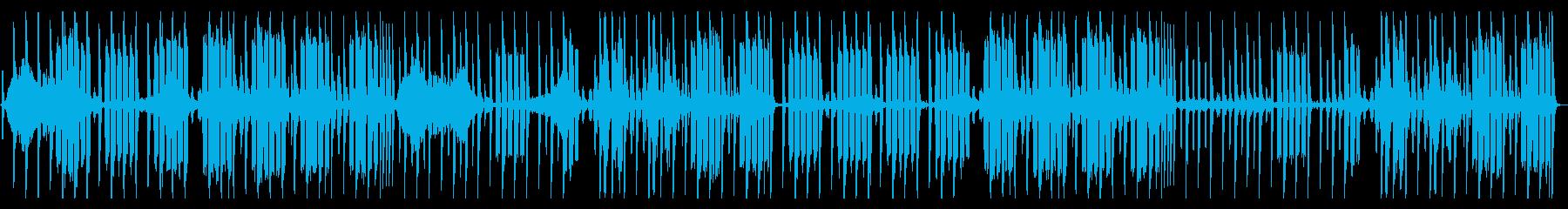 メロディーはありませんの再生済みの波形
