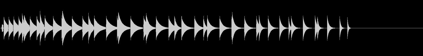 KANTクリックスクロール効果音2089の未再生の波形