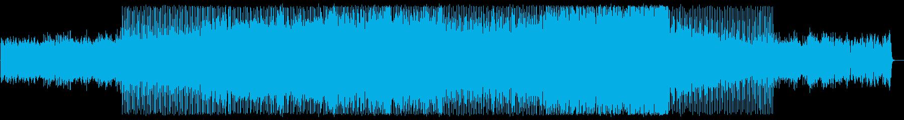 穏やかで軽快なピアノテクノポップサウンドの再生済みの波形