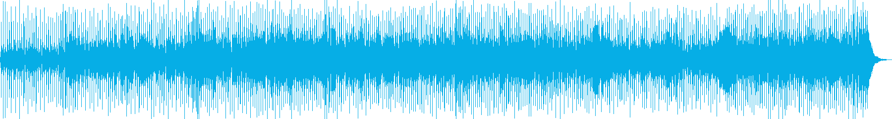 爽やかな夏のラテンぽいジャズファンクの再生済みの波形