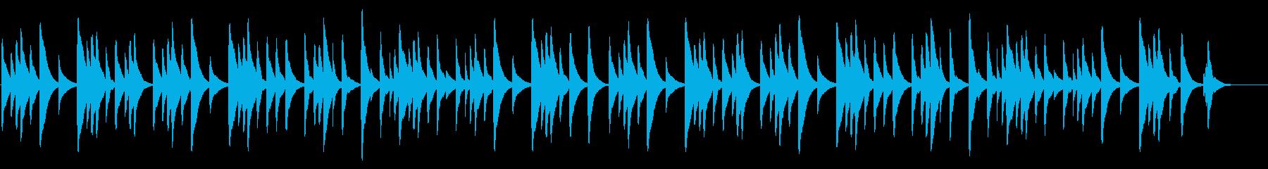 もみじ 18弁オルゴールの再生済みの波形