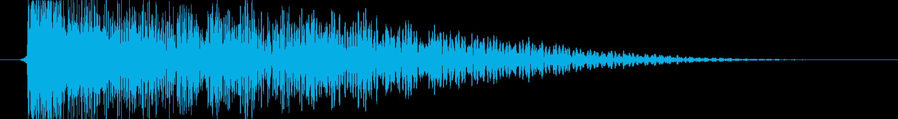衝撃 ヒットメタル06の再生済みの波形
