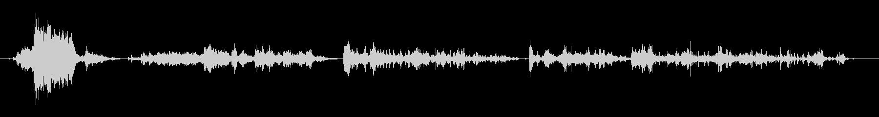 アルミホイルのロール:プルアンドテ...の未再生の波形