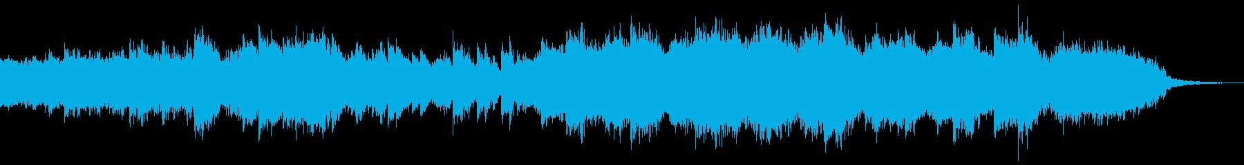 さざ波のピアノと弦楽器 映像 企業VPの再生済みの波形