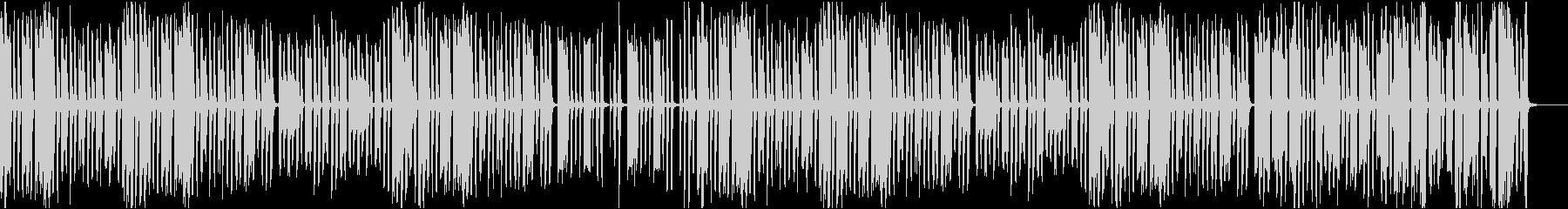 ゆるい雰囲気のコミカルなトイオーケストラの未再生の波形