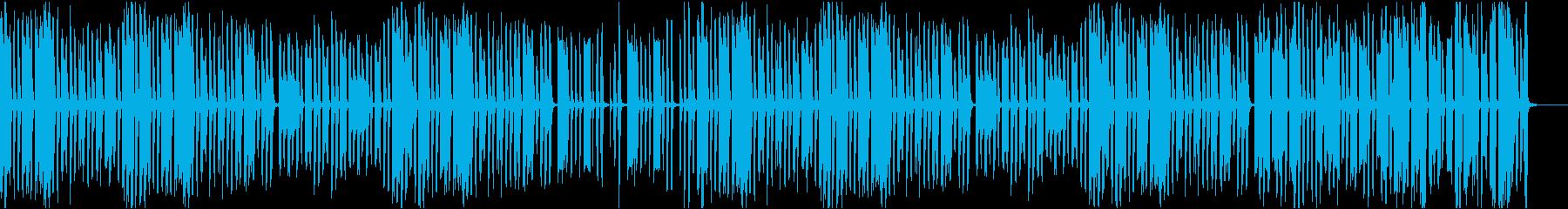 ゆるい雰囲気のコミカルなトイオーケストラの再生済みの波形