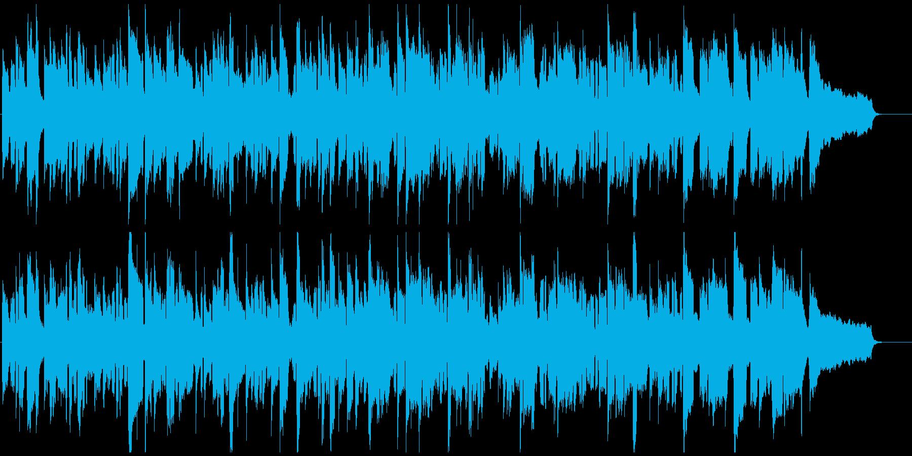 のんびりしたリコーダー、ほのぼの、ゆるいの再生済みの波形