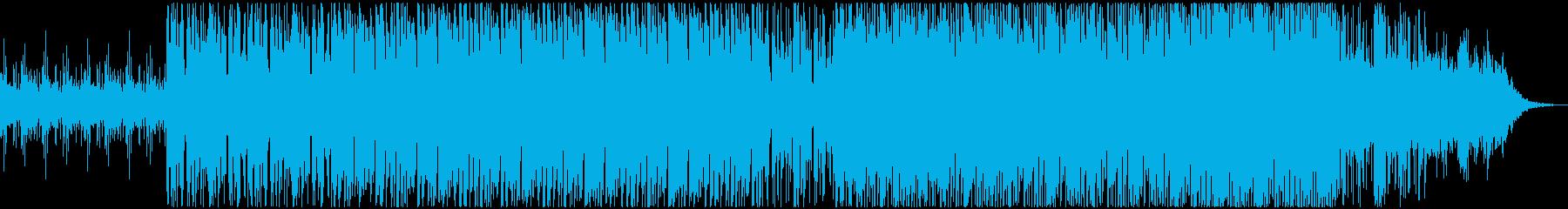 ダークでポップなエレクトロニカの再生済みの波形