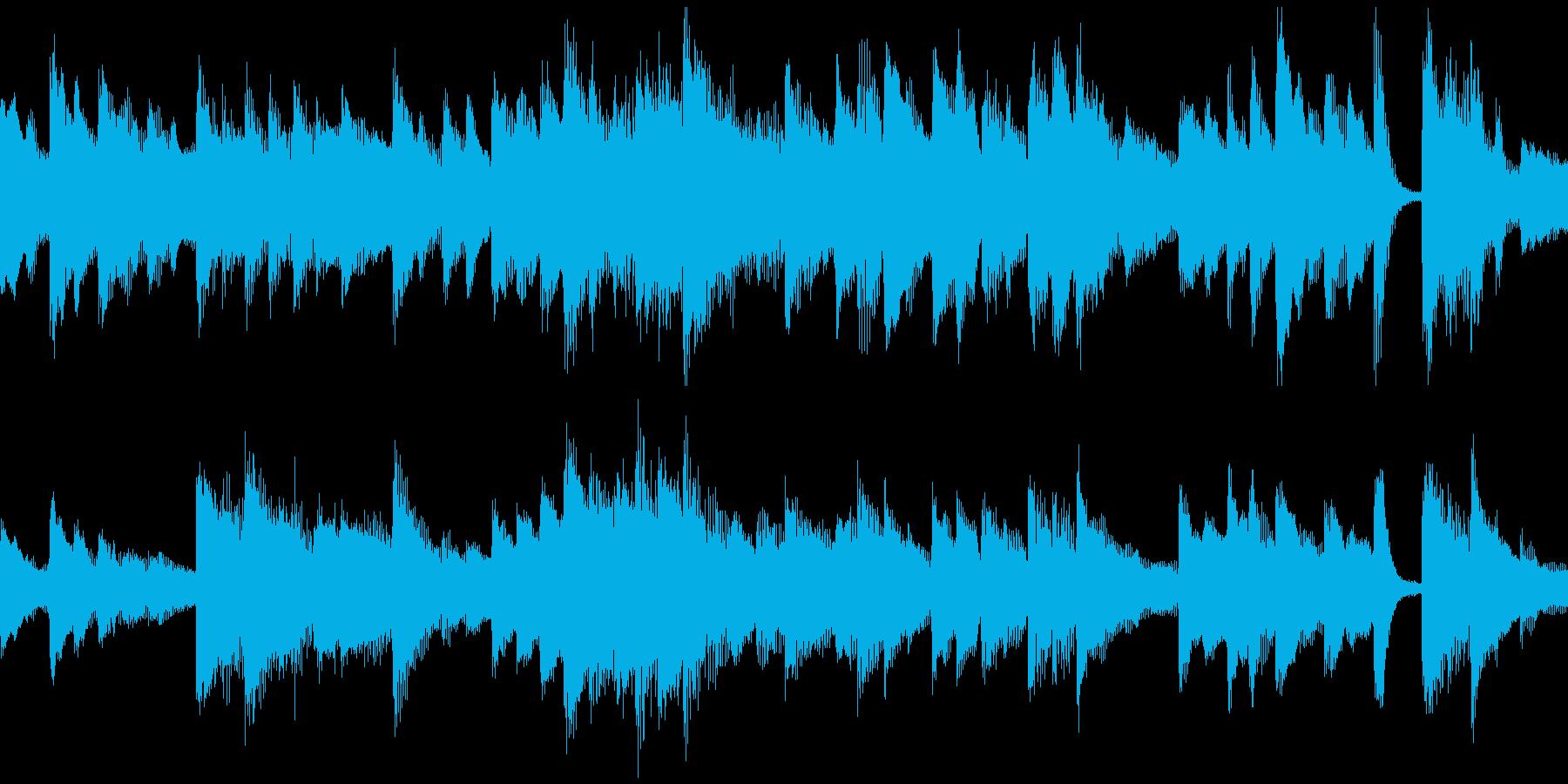 童謡「春よ来い」ループ仕様ピアノソロの再生済みの波形