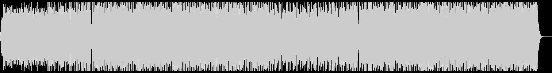 モチベーションの出るパワフルなEDM歌無の未再生の波形