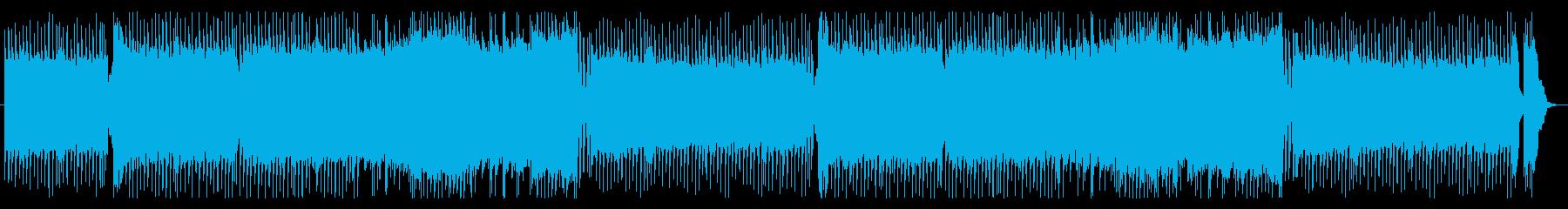 戦闘シーンを盛り上げる白熱の王道Rockの再生済みの波形