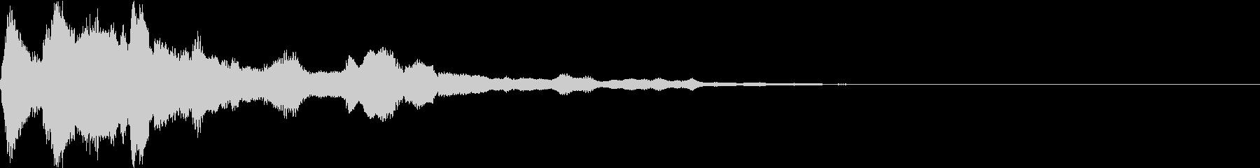 キラーン(スタート 決定 メカニカル)の未再生の波形