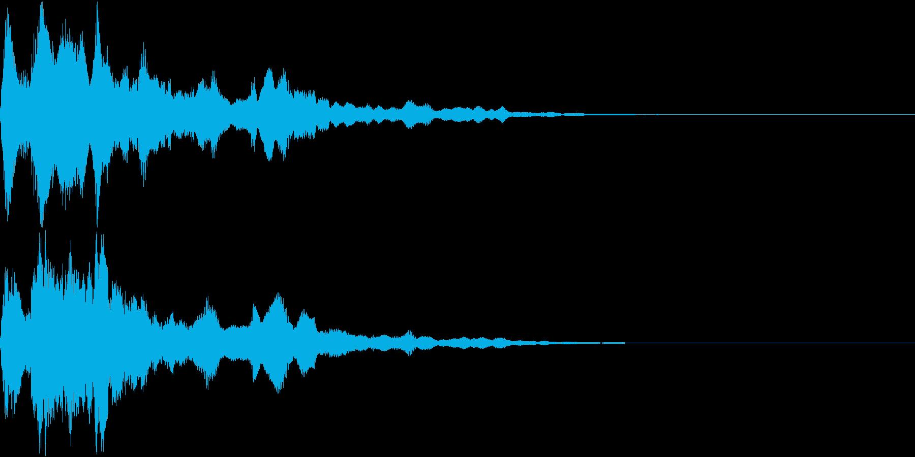 キラーン(スタート 決定 メカニカル)の再生済みの波形