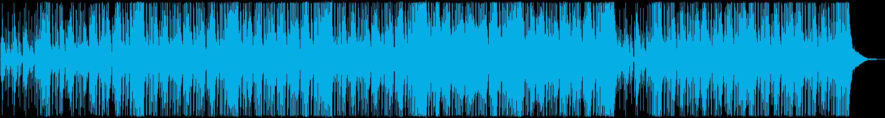 爽やかでゆったりとしたジャズの再生済みの波形