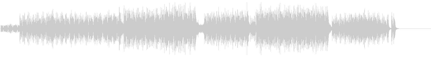 早いテンポの快感エキゾチック・サウンドの未再生の波形