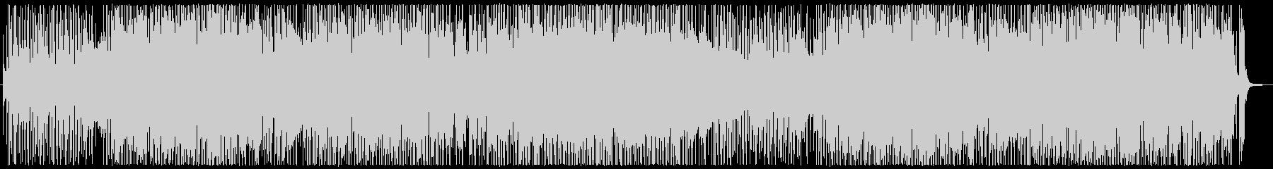 サックスの軽快なフュージョンインストの未再生の波形