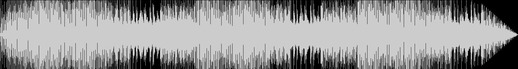 近代的エレクトロポップの未再生の波形