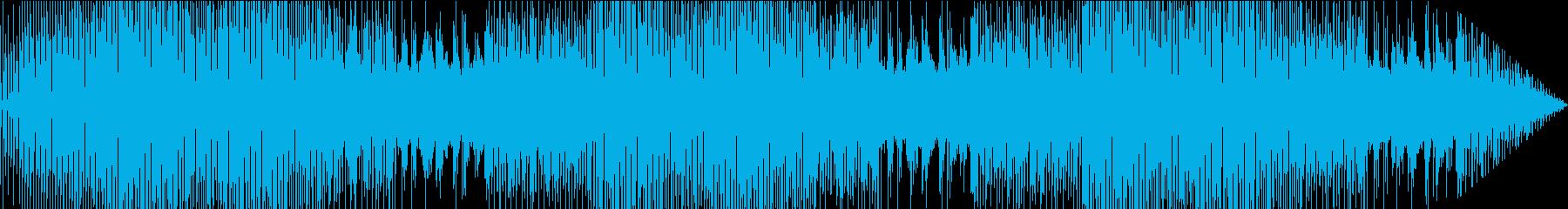 近代的エレクトロポップの再生済みの波形