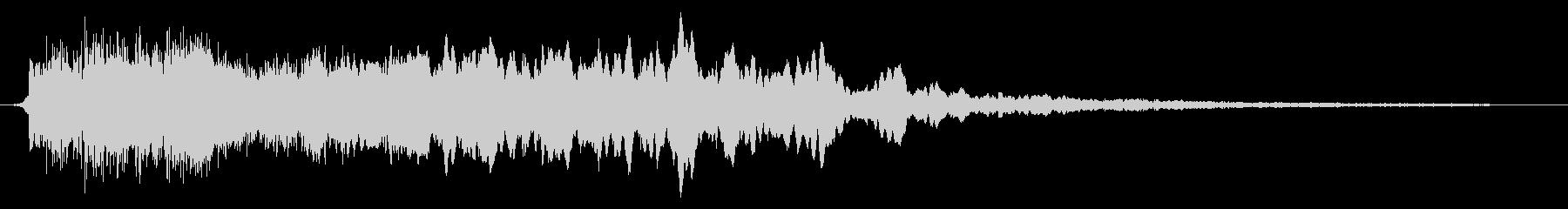 お化け屋敷や幽霊のような恐怖の効果音01の未再生の波形