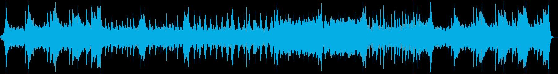 ハリウッド風ファンファーレとマーチ:Cの再生済みの波形