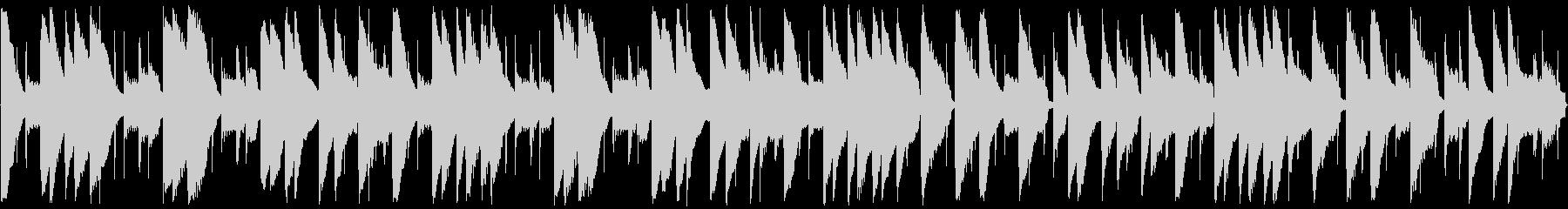 1分弱の可愛いほのぼの日常系BGMの未再生の波形
