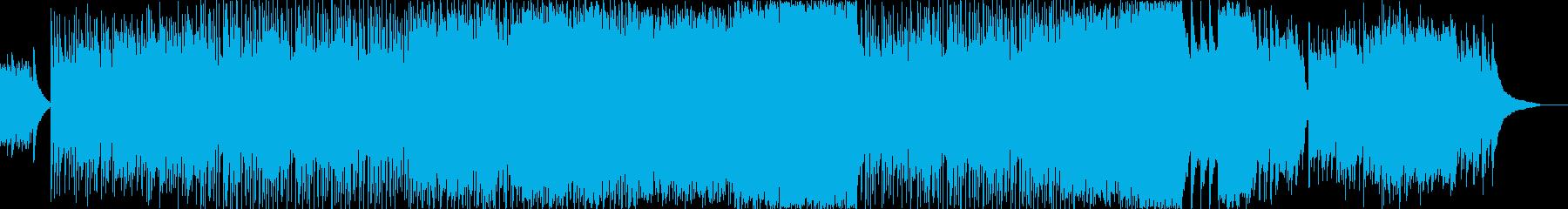 シンプルさがカッコいいジャジーなプログレの再生済みの波形