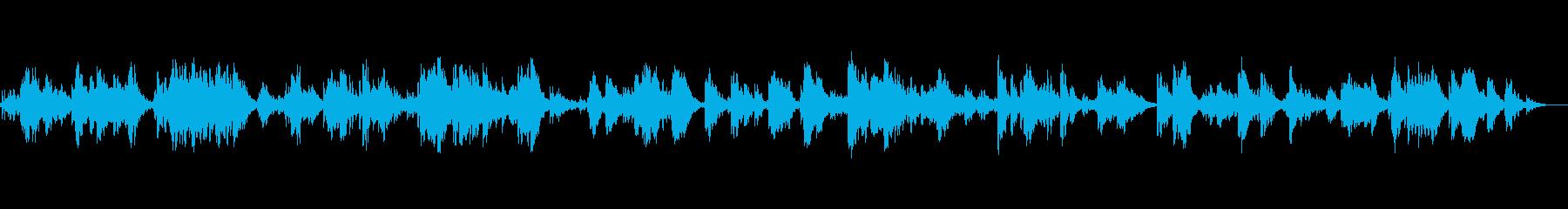 水を感じる癒しのBGMの再生済みの波形