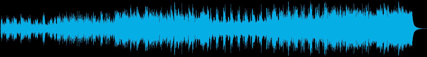 ケルト ピアノ フィドル 笛 疾走感の再生済みの波形