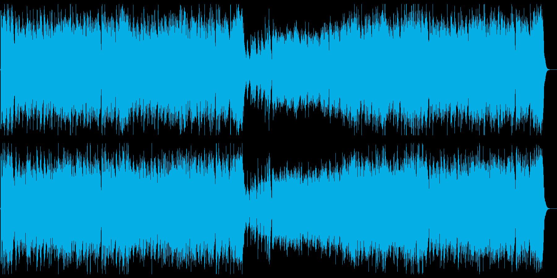 和風明治大正昭和初期・オーケストラ行進曲の再生済みの波形