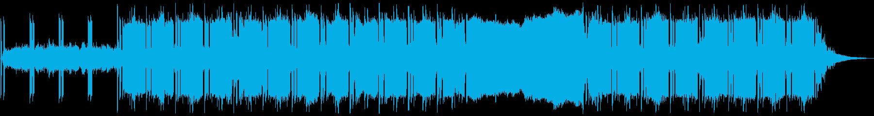 モダン テクノ アンビエント アク...の再生済みの波形