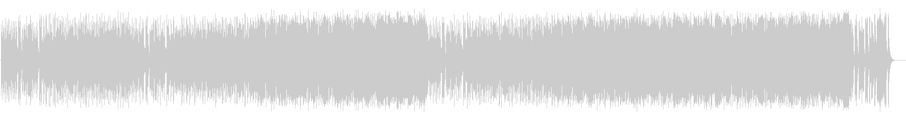 愛らしいコミカル調BGM(フルサイズ)の未再生の波形