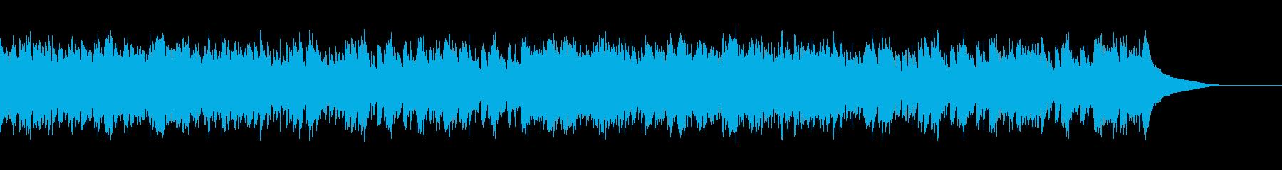 穏やかなパズルゲームのタイトル画面の再生済みの波形