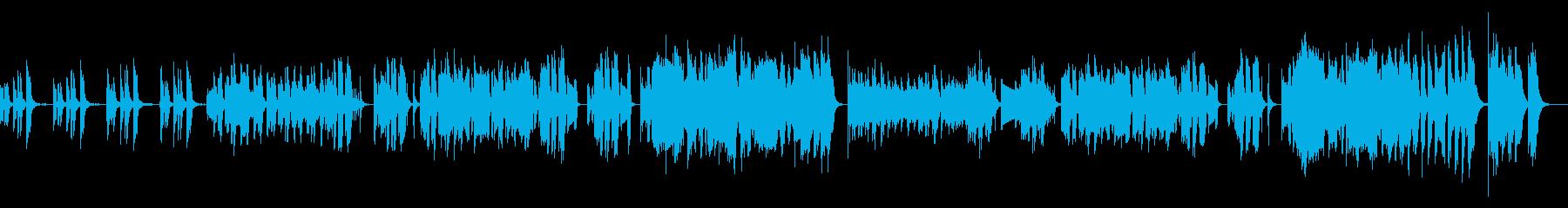 【キッズ向け】ほのぼのポップスの再生済みの波形
