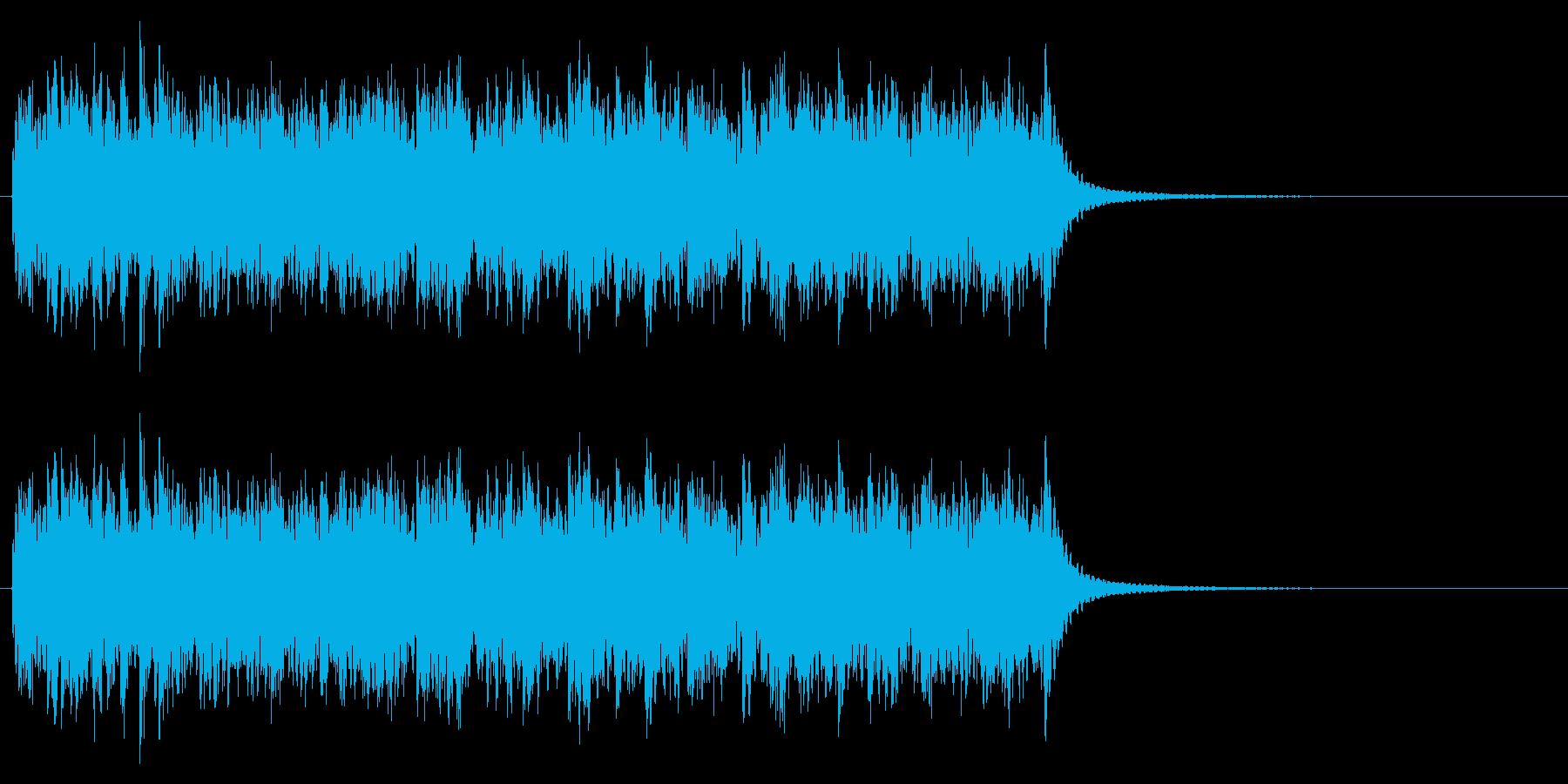 時計 アラーム04-01の再生済みの波形