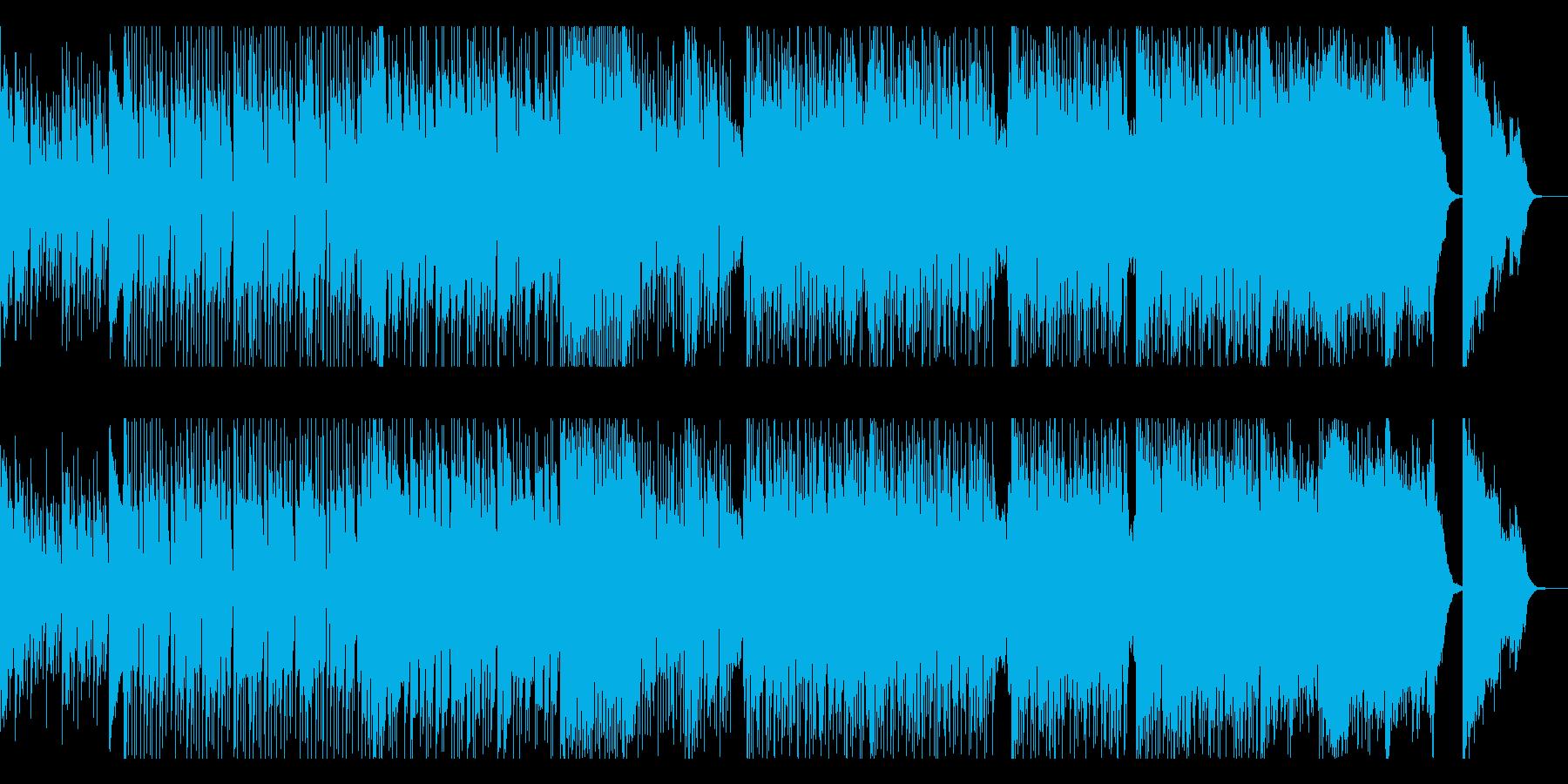★展開があるドラマチックな和風EDMの再生済みの波形