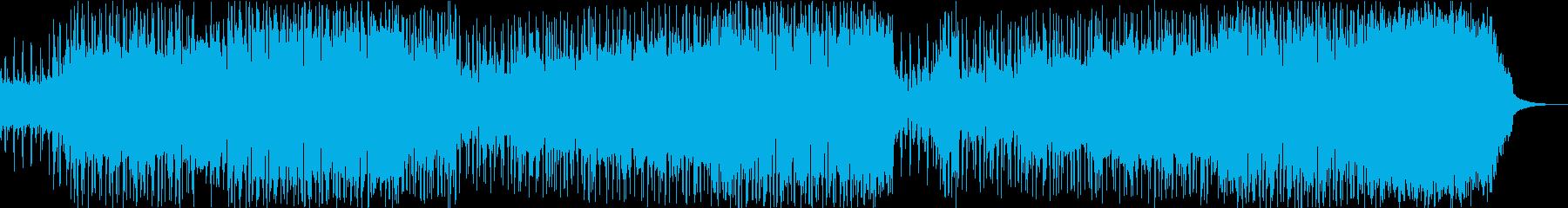 Gentle and nimble guitar POP's reproduced waveform
