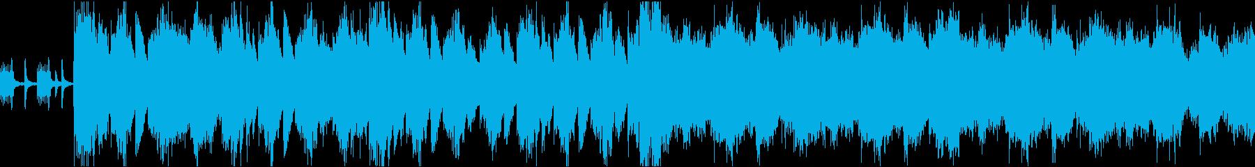 荘厳華美な天国の王宮イメージのフルオケの再生済みの波形