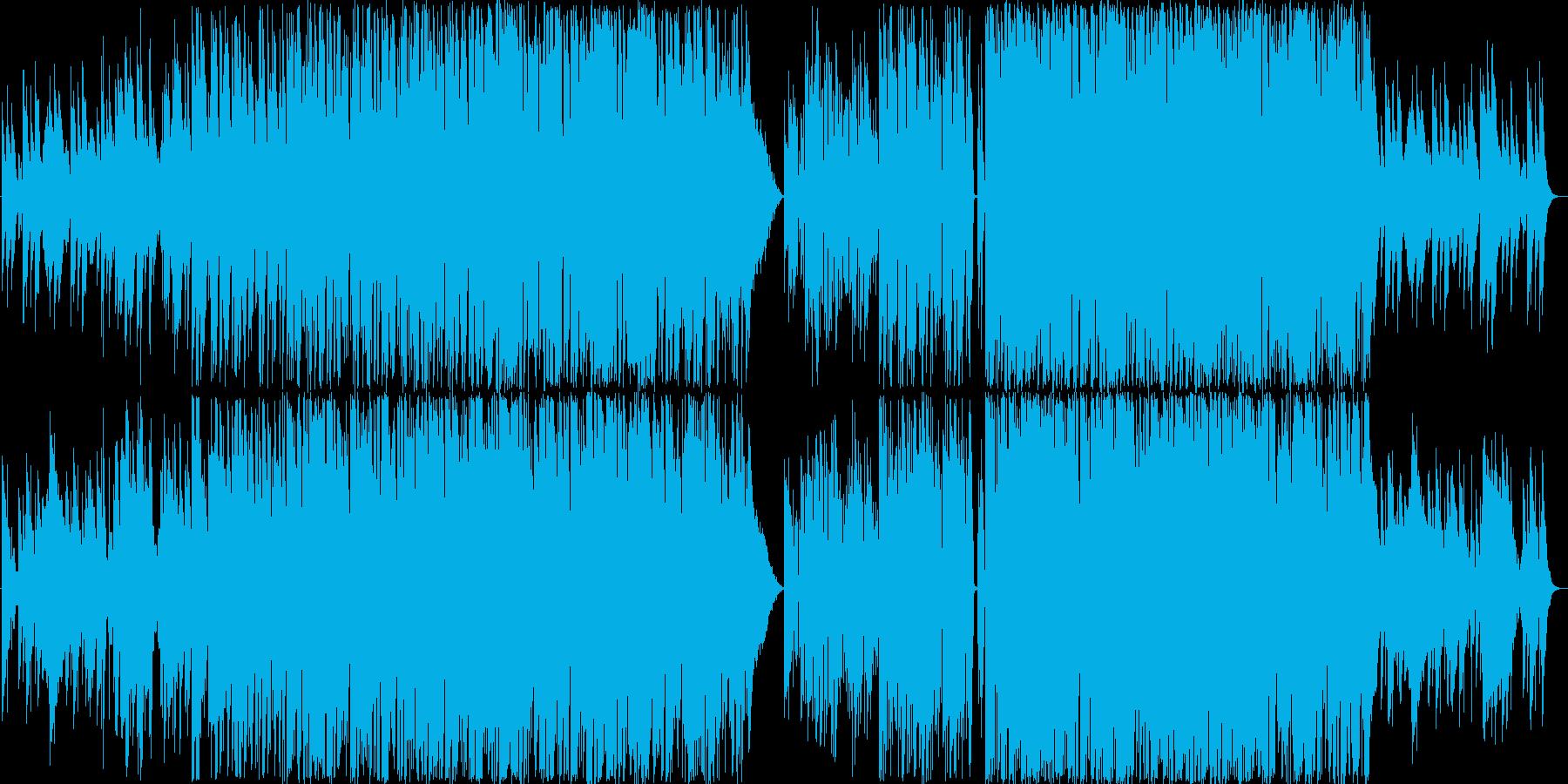 エスニックなテクノです。生音系となって…の再生済みの波形