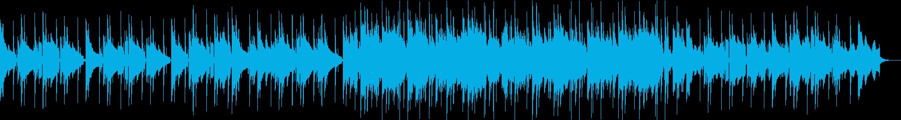 切ない雰囲気のブルージーなR&Bの再生済みの波形