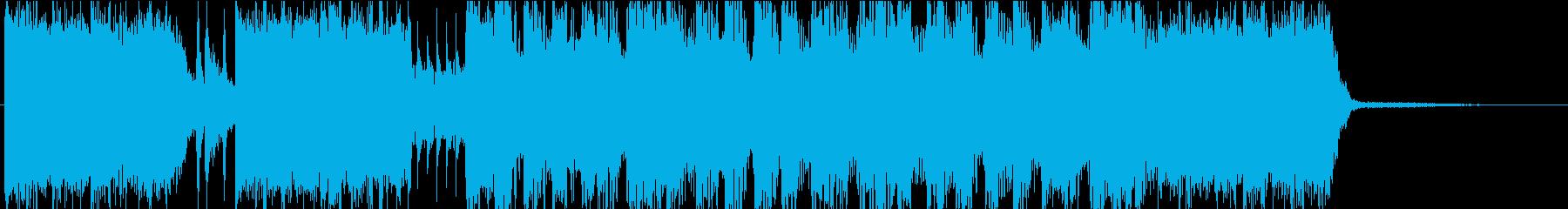 ロックンロール・楽しい・ジングルの再生済みの波形
