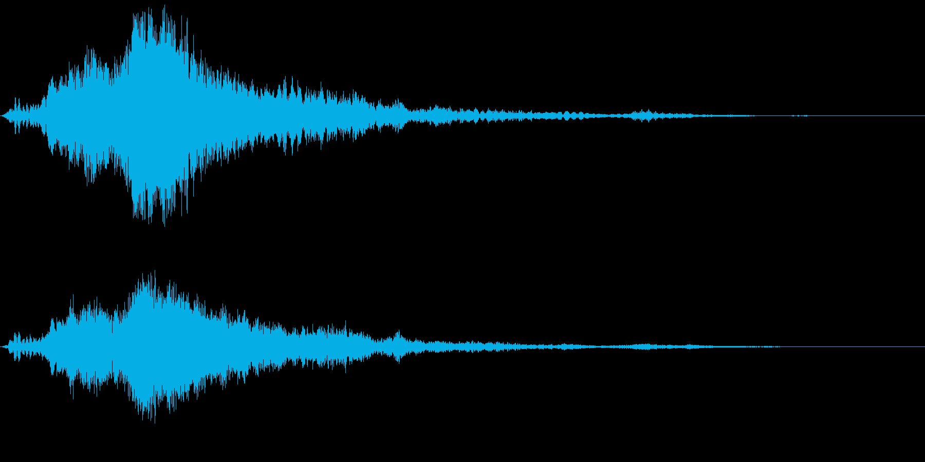 宇宙・星の幻想サウンド【サウンロゴ】の再生済みの波形