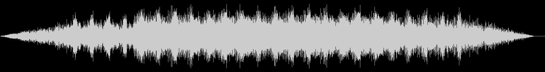 シンプルノイジーなディープハウスの未再生の波形