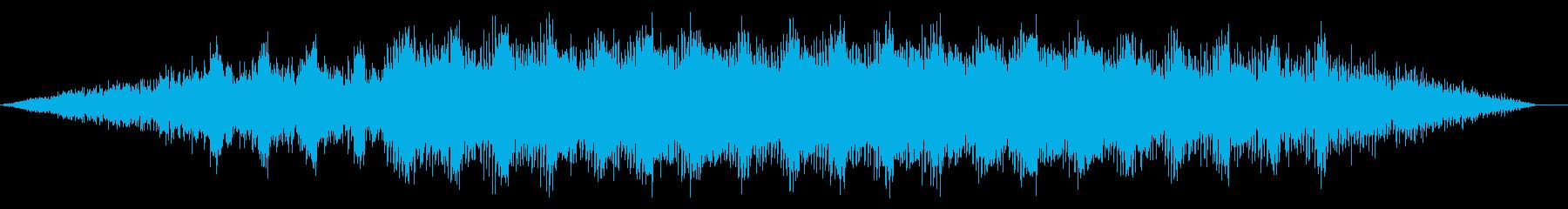 シンプルノイジーなディープハウスの再生済みの波形