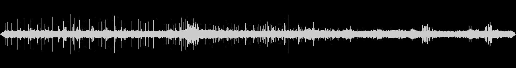 ショベルカーの音と鳥のさえずり2の未再生の波形